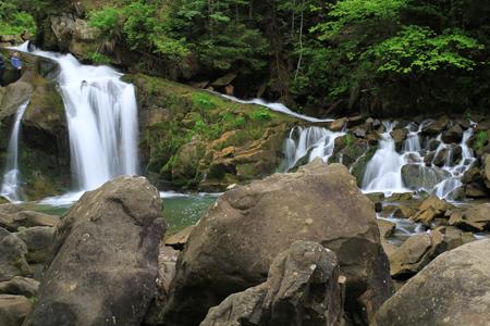 водопад в Сколевских бескидах