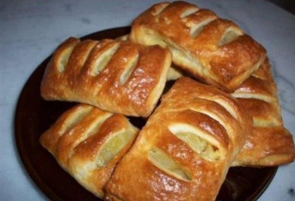 выпечка пирожки пироги кармажки с повидлом начинкой