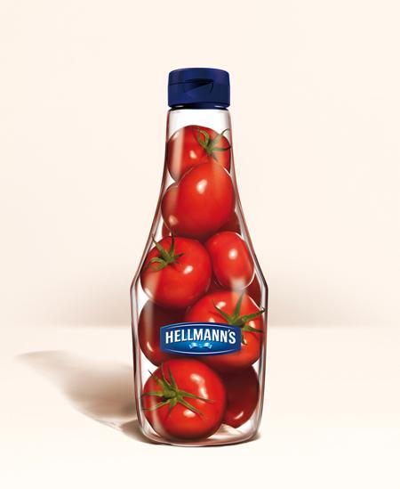 кетчуп в стеклянной таре