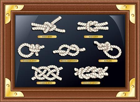 узлы из веревки