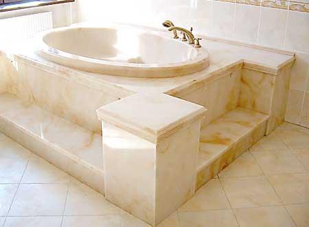 ванна из литого гранита