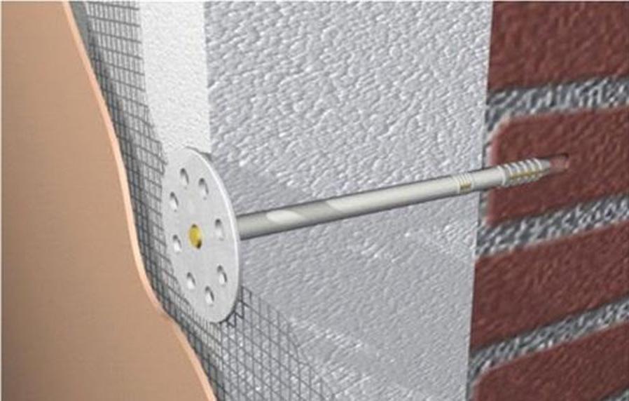 Как крепится пенопласт к стене в системе штукатурный фасад