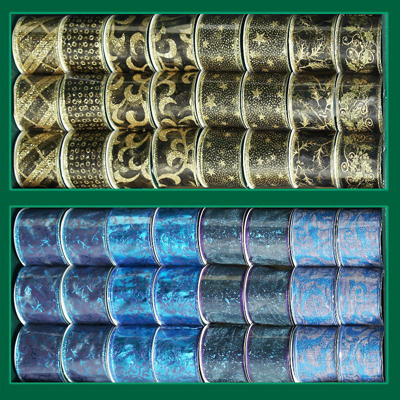 широкие  декоративные ленты