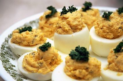 Дьявольские (острые) яйца