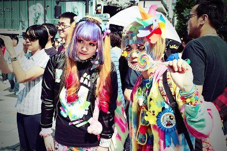 Как одевается японская молодежь или что такое стиль Харадзюку