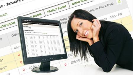 система онлайн-бронирования отелей