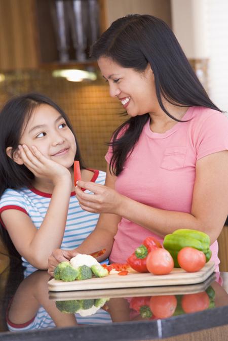 Избегайте слишком частых и длительных разговоров о еде и калориях