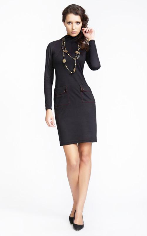 Как и с чем носить маленькое черное платье