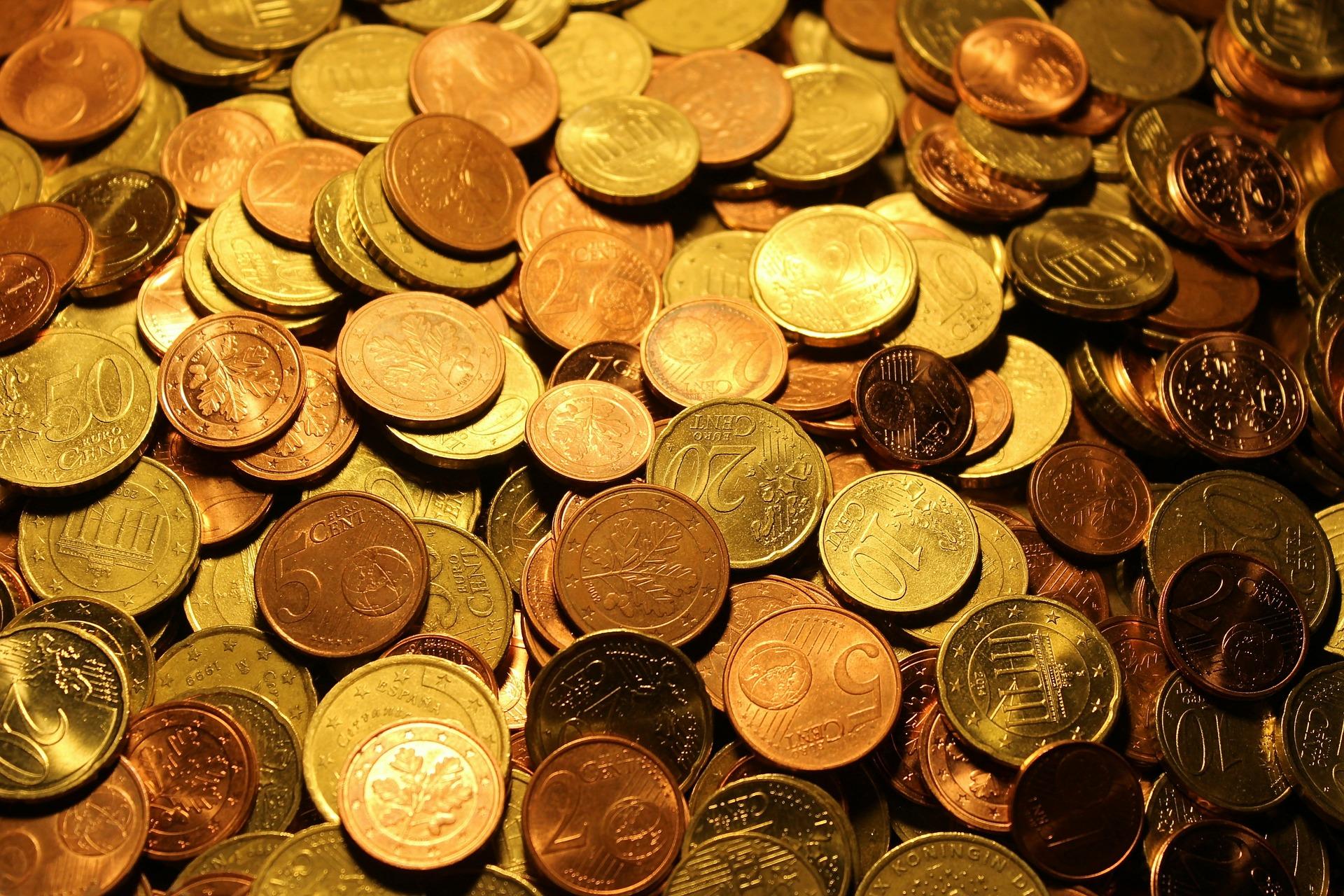 как считают монеты