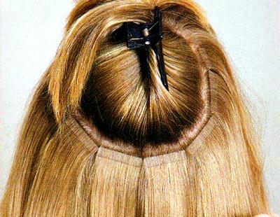 Как воспользоваться услугой по ленточному наращиванию волос?