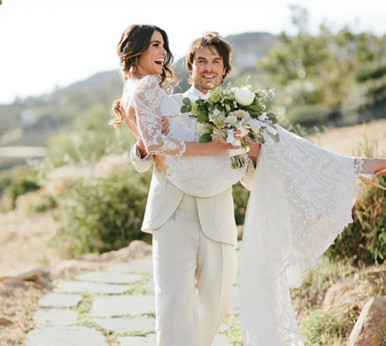 Как проходили самые громкие свадьбы знаменитостей 2015 года
