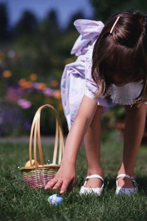 Как организовать охоту за яйцами на Пасху
