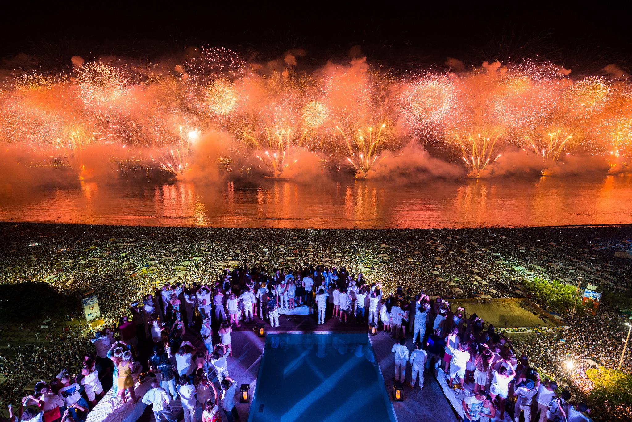 новый год в Бразилии