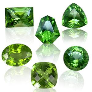 зелено-золотой хризолит (или перидот)