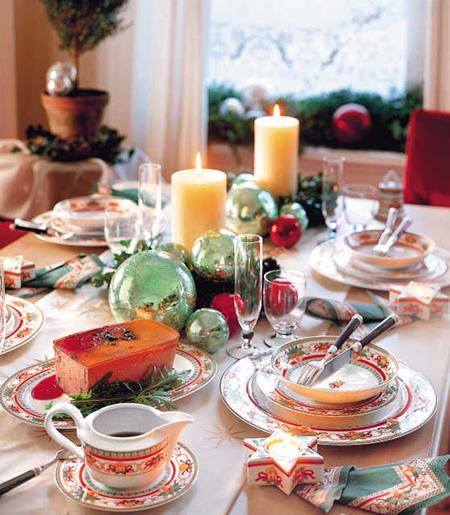 новогодняя атмосфера – это не только еда (много еды!), но и тщательно продуманный декор