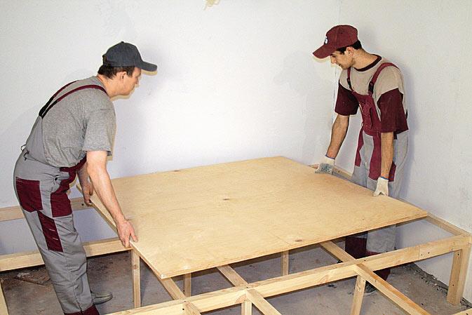 Как сделать подиум в спальне своими руками?
