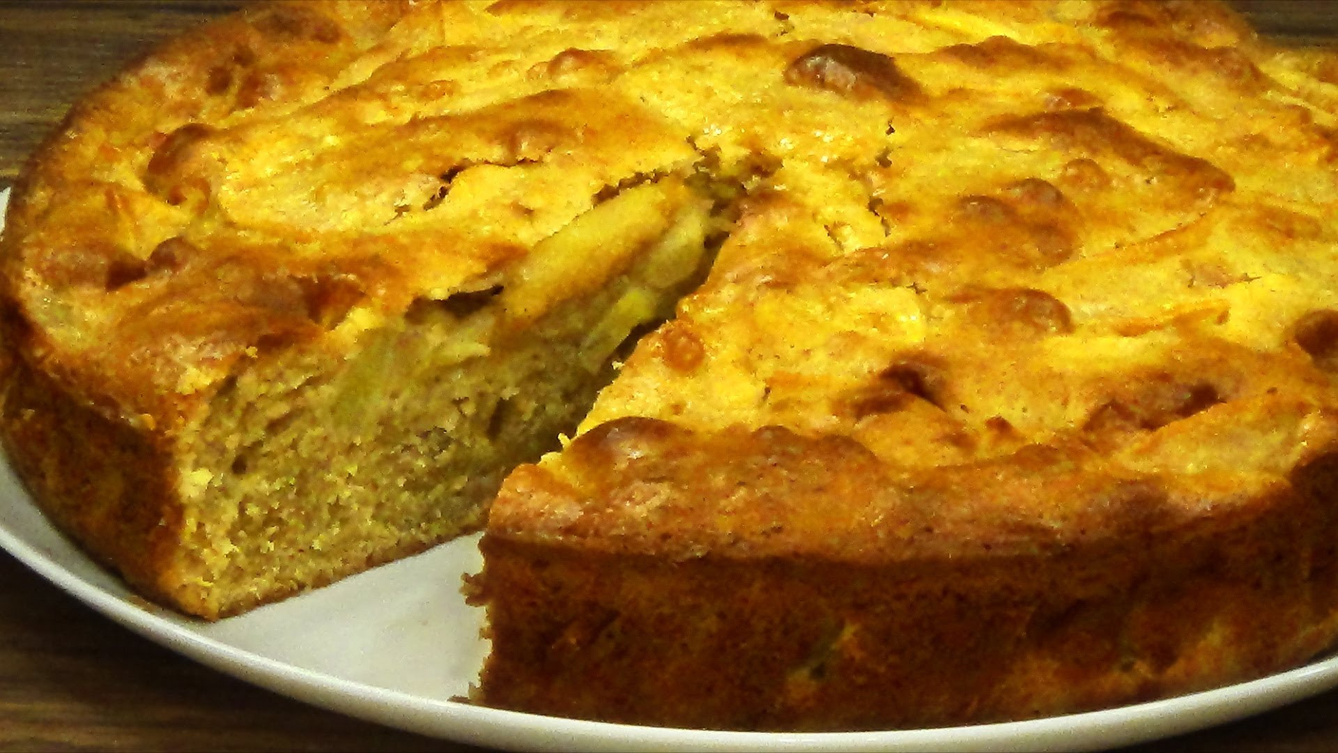 Как за полчаса приготовить яблочный пирог