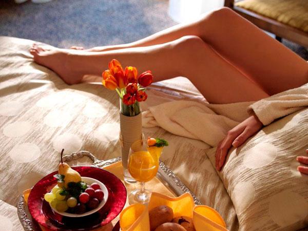 Как приготовить романтический... завтрак