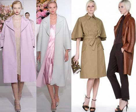 Как выбрать женский осенний плащ: основные принципы и мода осени 2013, рукава три четверти, крой свободный, бежевый цвет