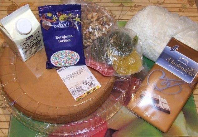Как приготовить мороженный торт ... из творога