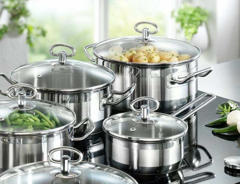 Как ухаживать за посудой из нержавеющей стали?