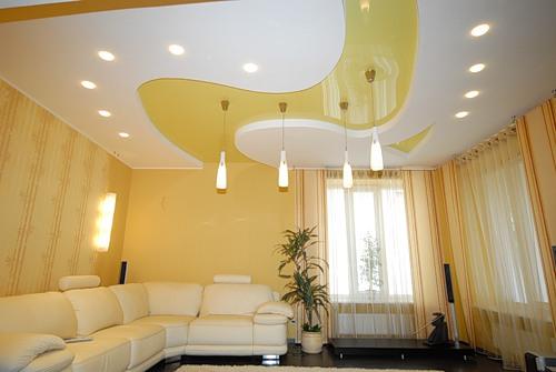 Как выбрать и установить натяжные потолки?