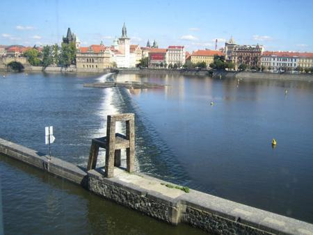 Креативная скульптура в Праге