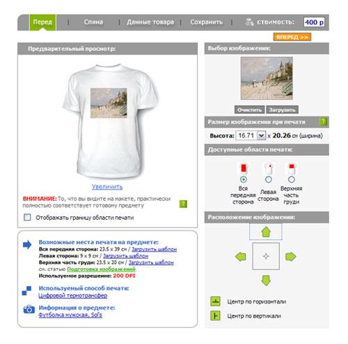 Как и где напечатать свою футболку и заработать на этом?