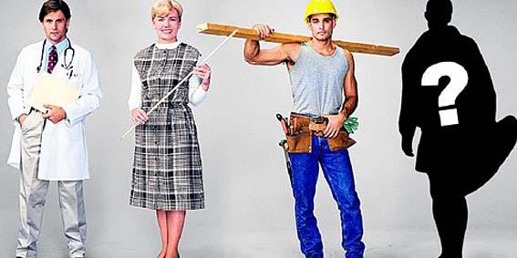 представители разных профессий на одной картинке врач учитель строитель