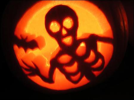 Как оригинально вырезать тыкву на Хэллоуин
