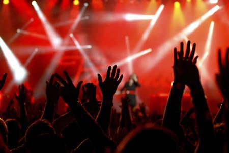 как вы вырубились на рок-концерте какой-то современной группы