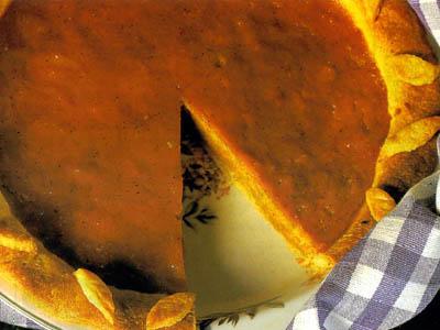 Аппетитный тыквенный пирог