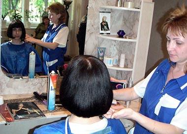 Навестите парикмахера