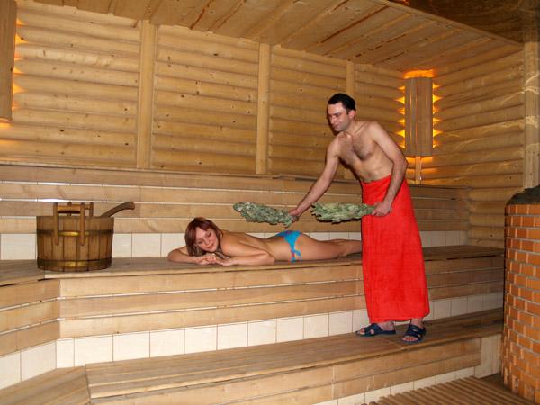 баня русская сколько градусов появляются