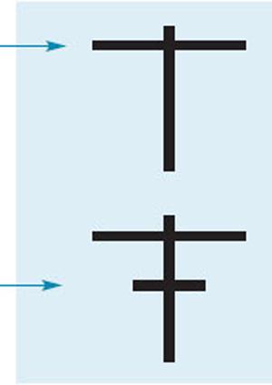 Наложите полученные палочки крест-накрест