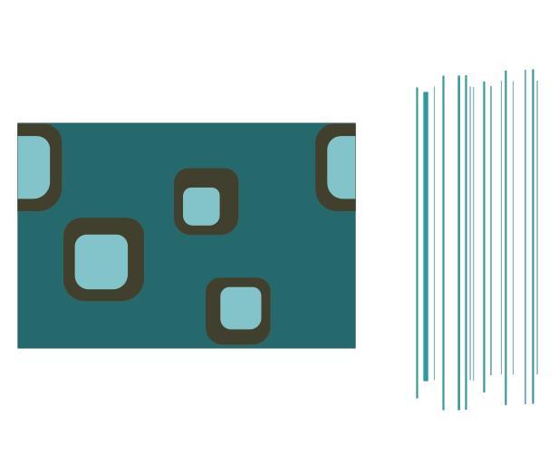 стильное бесшовное фоновое изображение в CorelDraw