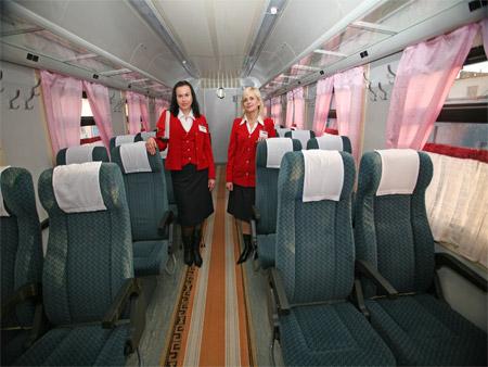 Сидячие места в поездах дешевле