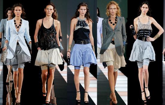юбка-шорты тренд мода осени 2013