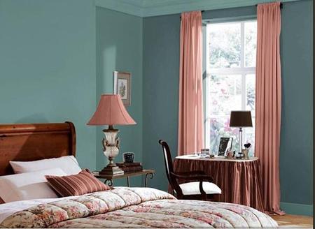 Спокойные оттенки вроде голубого, пурпурного и зеленого создадут наиболее умиротворяющее окружение, утверждают дизайнеры