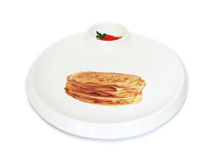 соусник - часть тарелки