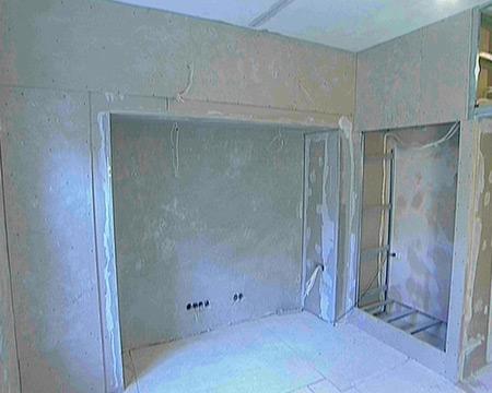 Как сделать нишу в стене комнаты?