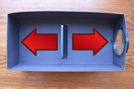 Как сделать домашний проектор из коробки и телефона?