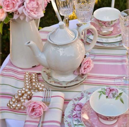 Как накрыть стол к чаепитию
