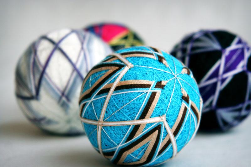 Как создавать японские шары темари. Часть 1.