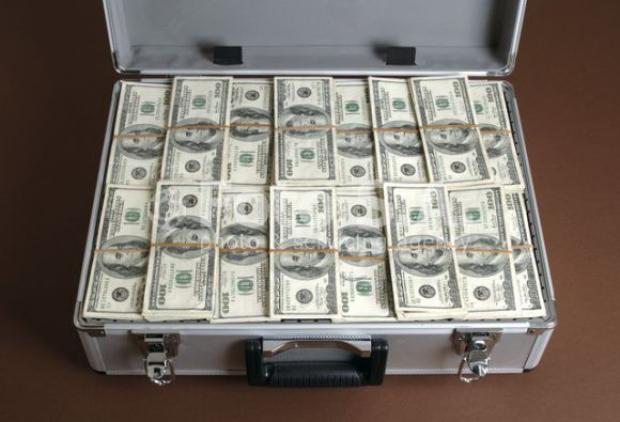 как оригинально подарить деньги в кейсе
