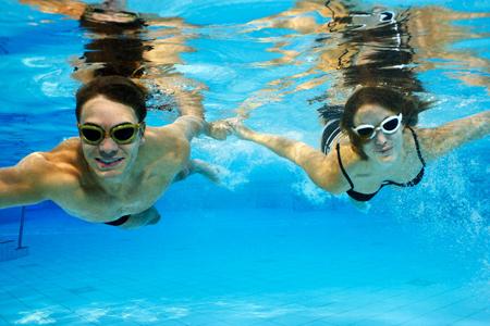 поплавать зимой – огромное удовольствие