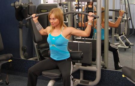 Силовая нагрузка на верхнюю группу мышц