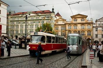 проезд в Праге на городском транспорте