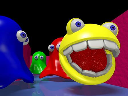 Не смотря на то, что с 1980-х компьютерные игры сильно продвинулись, феномен культового Пакмана (Pac-Man) до сих пор будоражит умы: он является иконой, символом истории видеоигр