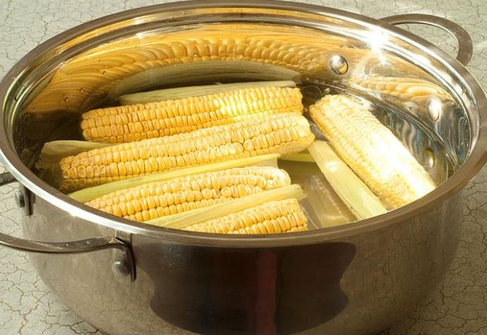 Как самому заморозить кукурузу?
